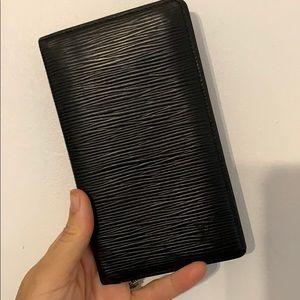 Louis Vuitton EPI checkbook holder